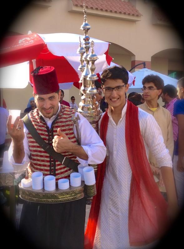 FINJAN KIRFEE (SYRIAN SPICE DRINK) VENDOR